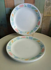 Lovely Corelle Corning USA Dinner Plates x 4 *Friendship Pattern
