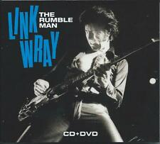 Link Wray - The Rumble Man (CD+DVD 2017) NEW/SEALED