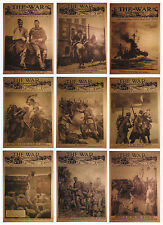 Cult Stuff WW1 1914 9 Card War Illustrated Magazine Covers Puzzle Back Chase Set