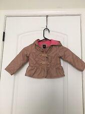 Baby Gap Toddler Girl's Fleece Lined Jacket Coat Sz Toddler 3 Yrs OuterWear