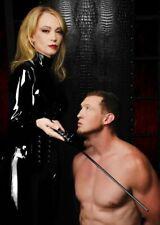 Mistress Isabella Sinclaire Intense Impact Cane Bondage Leather Whip Kinky Free