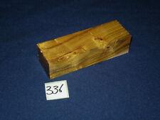Perückenstrauch Messergriffblock  Messergriff feine Drechselarbeit Nr: 336