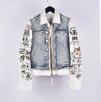 Dsquared2 Men Slim Fit Stylish Denim Jacket Size EU48 UK38