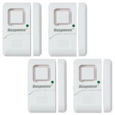 4 X Wireless Magnetic Alarm Burgler Sensor Loud Door Window Security Home System