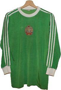 1976 MATCH WORN #2 BULGARIA Football Shirt Jersey ADIDAS size M Tricot Maglia