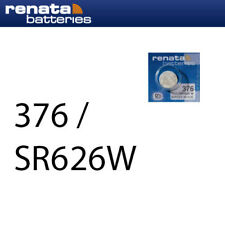 5 x Varta V377 Uhrenbatterien 1,55 V SR626SW SR66 AG4 LR626 RW 329 21mAh