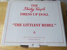 The Littlest Rebel Movie Doll Costume Shirley Temple Dress Up Danbury Mint
