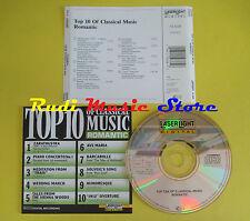 CD TOP 10 OF CLASSICAL MUSIC compilation STRAUSS SCHUBERT no lp mc dvd vhs (C15)