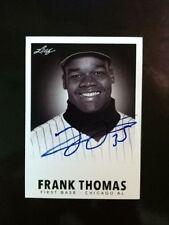 Frank Thomas Autograph 2013 Las Vegas Industry Summit 1960 Leaf Throwback Previe