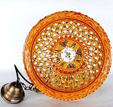DECORATO A MANO SIZE XL Ø: 40cm lampadario bilanciere ferro battuto rustico