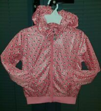 H&M Hello Kitty Girls Pink Great Jacket coat Waterproof Age 1-2 ONLY £3.50! WOW