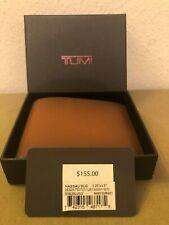 NWT MSRP $155 TUMI ID Lock Double Billfold Nassau Collection