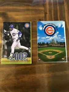 Chicago Cubs 1994 Pocket Schedule - Very Nice !
