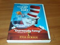 Dr. Seuss The Cat in the Hat (DVD, 2004, Full Frame Edition) Mike Myers