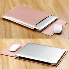 """For MacBook Pro 13"""" 15'' 2018/2017 PU Leather Sleeve Case Cover A1706 / A1708"""