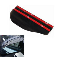New 2x Universal Rear View Side Mirror Rain Board Sun Visor Shade Shield For Car