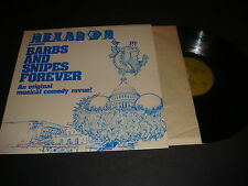 Hexagon Inc. Presents Record, Barbs & Snipes Forever Album,LP, Vynil