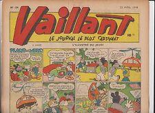 VAILLANT n°154 du 22 Avril 1948 - TBE