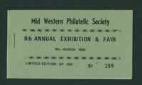 MWPS  1985  IRELAND  DX54  MWPS  EXHIBITION  BOOKLET - SCARCE