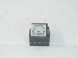 General Electric GE SRPE30A30 New Spectra Rating Plug 30 amp