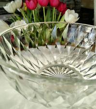 Glasschale Glas Schale Schüssel Glasschüssel Klar Vintage 18 x 9 cm Salatschüsel