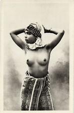 PC ETHNIC NUDE FEMALE TYPE, ALGERIA Vintage Postcard (b5361)