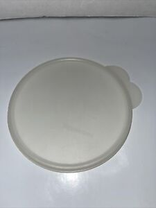 """Tupperware Butterfly Tab 2541A Cereal Bowl 6"""" Replacement Lids Sheer"""