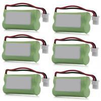 6x Cordless 800mAh Phone Battery AT&T VTech BT166342 BT266342 BT183342 BT283342