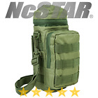 VISM NcSTAR MOLLE PALS H2O Hydration Water Bottle Carrier Utility Pouch Green