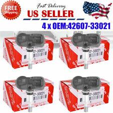 Set of 4 OEM TPMS Tire Pressure Sensors Service Kits PMV-107J For Toyota Lexus