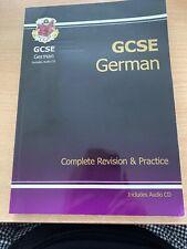CGP German GCSE revision and practice usedInc AUDIO CD