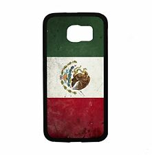 Mexican Mexico Flag Grunge For Samsung Galaxy S6 i9700 Case Cover