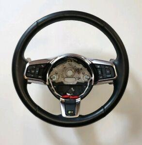 Genuine JAGUAR F-Type R heated Steering Wheel. Complete.