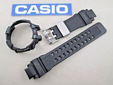 Genuine Casio G-Shock Gravity Defier GWA1100 GW-A1100-1 black watch band & bezel