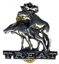 TREAT - Logo / Elk - Metal-Pin - Neu
