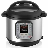Instant Pot Duo60 6 QT 7-in-1 Multi-use Programmable Pressure Cooker Steamer A00