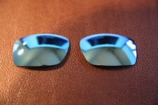 PolarLenz Polarized Ice Blue Replacement Lens for-Oakley Square Wire Sunglasses