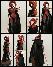 """Star Wars Custom sólo """"capa"""" para Sideshow Darth Talon premium estatua de formato"""