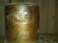 Antique Vintage Blow Torch Craftsman Brass All Original Parts Heating Tool