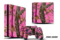 Skin Decal Wrap For PS4 Slim Playstation 4 SLIM Console + Controller Stickers PC