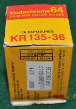 Kodachrome KR 135-36 Slide Film Expired 11/82 - Sealed Box