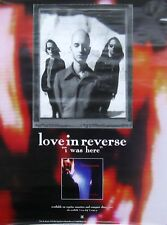LOVE IN REVERSE POSTER, I WAS HERE (L9)
