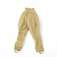 "1/6 WWII German Sodier Female Sand Pants Model Trousers F 12"" Man Action Figures"