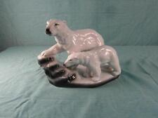 Dekofigur Porzellan Eisbären Eisbär Neundorf Porzellanfigur Sammler Antik Vit1b