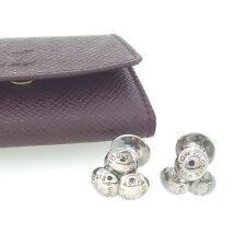 Auth Louis Vuitton Cufflinks Taiga Mens used L916