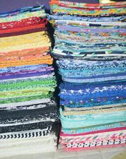 F/Q Fat Quarters 100 different designs patchwork & Quilting fabric