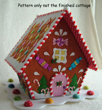 PATCHWORK / QUILTING  CHRISTMAS CANDY COTTAGE SEWING PATTERN by Gail