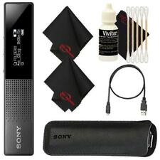 Sony ICD-TX650 Ultra Slim High Quality Digital Voice Recorder + Cleaning Kit