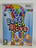 Bust A Move Nintendo Wii Game Near Mint Complete PAL UK Fast Free P&P Puzzle