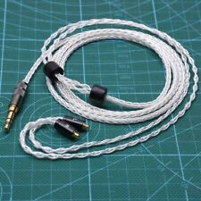 8 Cores 5n OCC Silver Plated Upgrade Cable For SHURE SE846 SE535 SE215 SE425